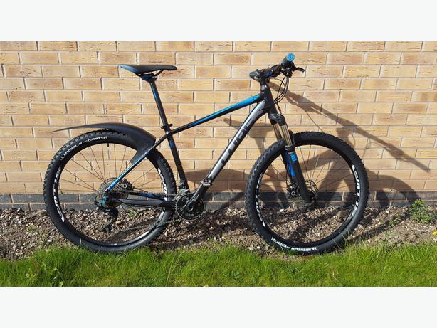 f0776f9f749 2015 Cube Attention SL 27.5 650b - hardtail mountain bike DUDLEY ...