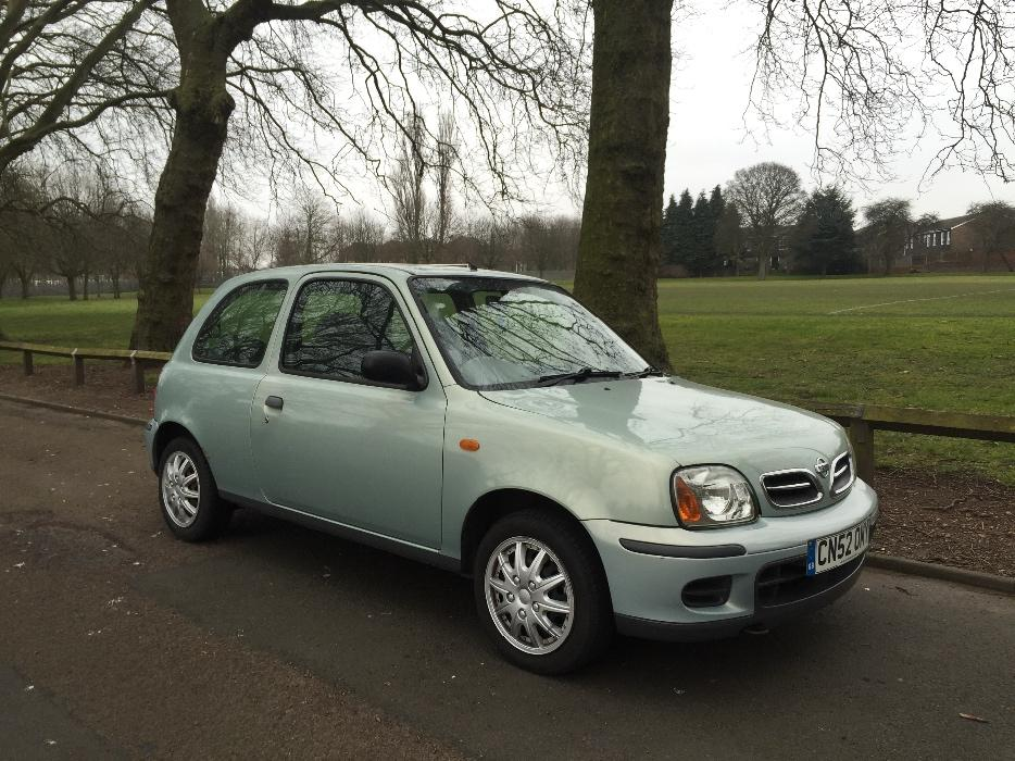 2002 nissan micra 1 0 petrol low miles service history. Black Bedroom Furniture Sets. Home Design Ideas