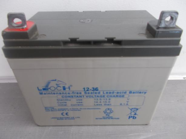 Leoch Sealed Lead Acid Battery 12-36