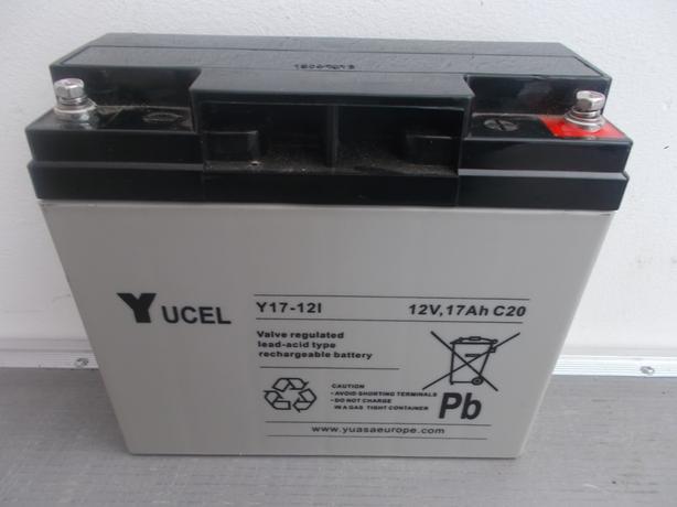 Yucel Y17-121 12v 17Ah C20
