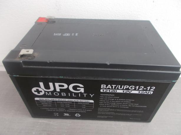 UPG Mobility UPG12120 12v 12Ah