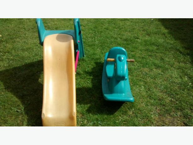 little tikes slide/rocking horse