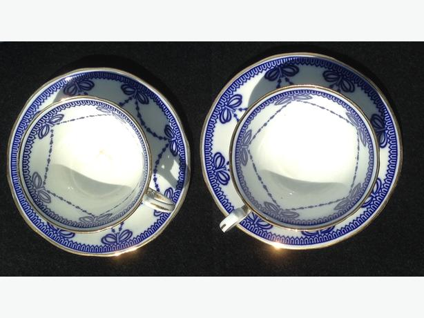 Aynsley Tea Cups and Saucers X 2