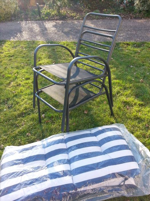 3 X B Q Colorado Garden Chairs Brand New Wolverhampton