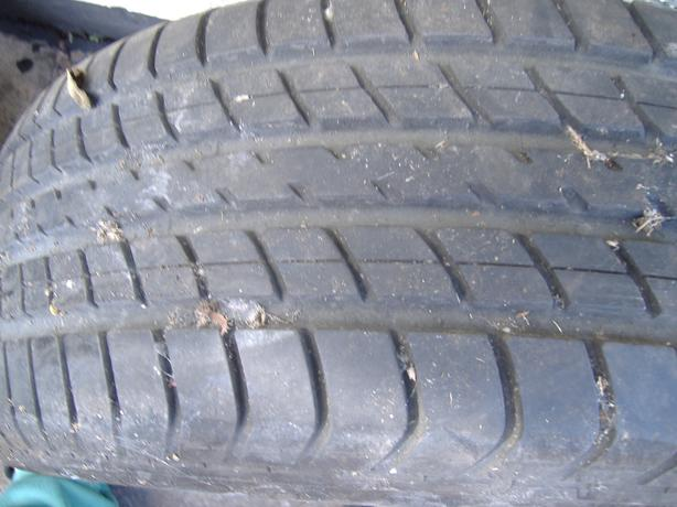 tyre off ford galaxy