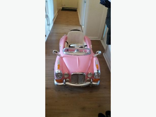 12vols girls pink classic masadz electric car