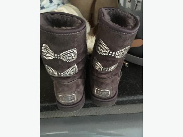 swarovski crystal ugg boots