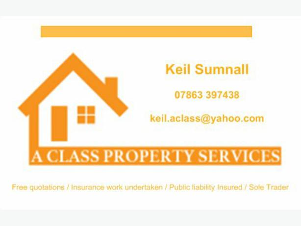 A Class Property Services (Refurbs & Repairs)