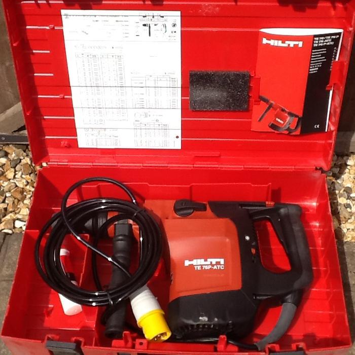 hilti te 76p atc breaker rotary hammer drill 110volt dudley  dudley hilti te 76p user manual hilti te 76p-atc manual