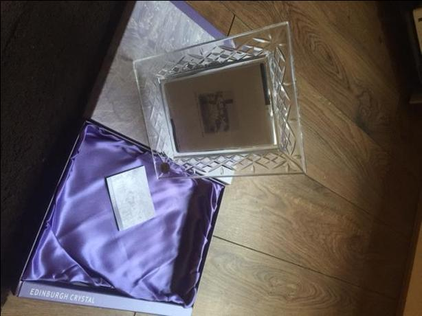 Edinburgh Crystal Photo Frame