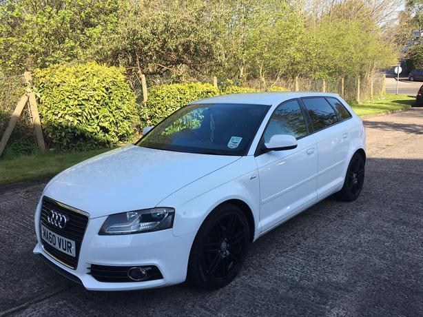 2010 60 audi a3 sportback s line 2 0 diesel sport wolverhampton dudley. Black Bedroom Furniture Sets. Home Design Ideas