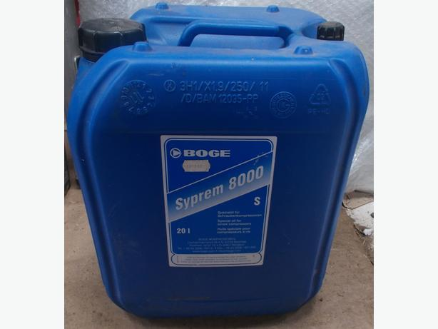 Boge SYPREM 8000 S Oil for Screw Compressors 20l