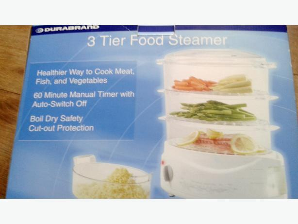 Durabrand 3 Tier food steamer