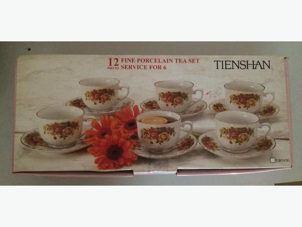 12 piece Fine Porcelain Tea Set