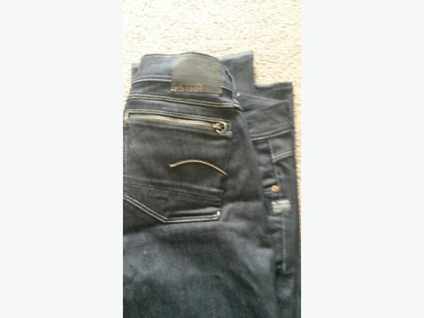 ladies g star jeans 34 waist,32 leg