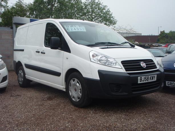 Fiat Scudo 1.6JTD Comfort Panel Van