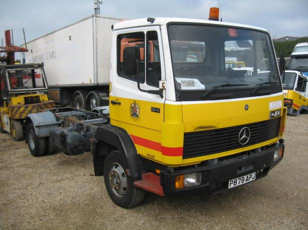Mercedes 814 Cab/Chassie, manual Gear Box, Steel Suspension