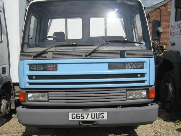 DAF 45 18 Flat Beaver Tail Body Cummings Engine