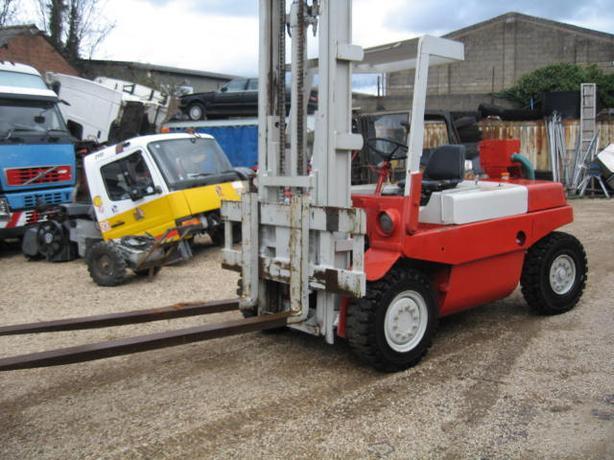 LINDE H70DW Forklift, 7000KG Lift, Long Forks