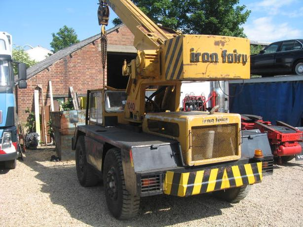 Iron Fairy Sapphire 7 Ton Crane Good Working Order