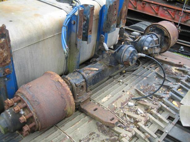 "BPW 10 Stud Trailer Axles Will Take 15"" - 17.5"" - 19.5"" Wheels"