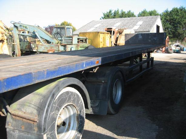40ft Tandem Axle PSK Trailer