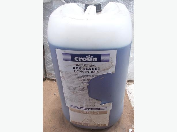 CROWN Industrial Multi Purpose Degreaser Concentrate 30L