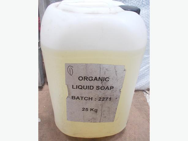 Organic Liquid Soap 25KG