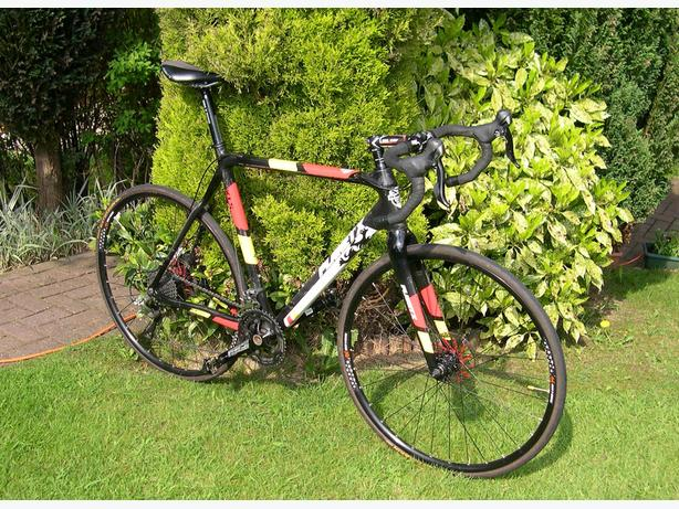 Planet X Xls Full Carbon Cyclo Cross Bike With Disc Brakes Dudley