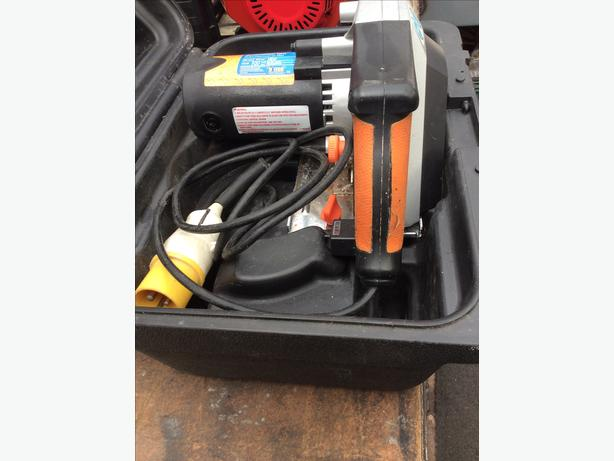 Evolution 180 txt steel cutting saw 110 volt