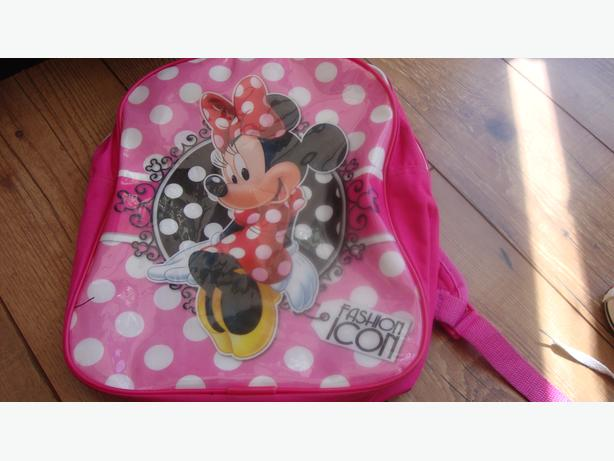 Two minnie mouse kids bags