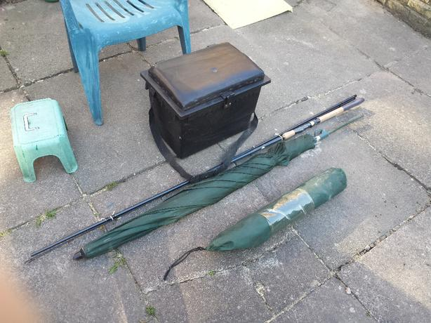 Fishing gear bloxwich wolverhampton for Used fishing equipment for sale