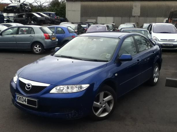 MAZDA 6 1.8 PETROL BREAKING FOR SPARES BLUE BLACK SILVERS