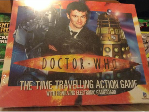 Dr Who ~ Time Travelling Action Game ~ Brand New & Sealed