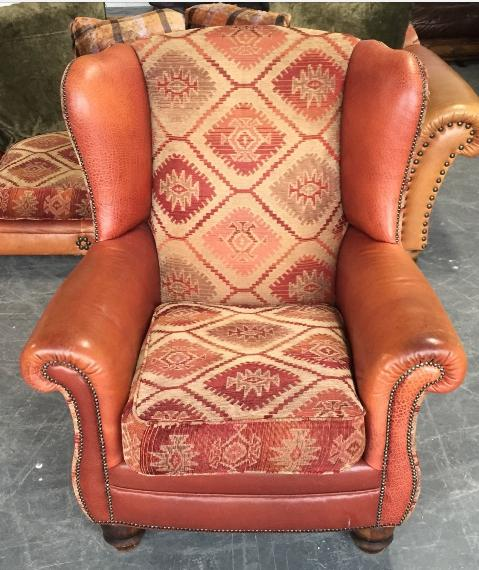 Tetrad Eastwood Chesterfield Style Wingback Armchair We