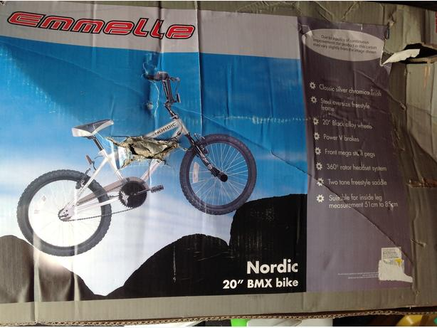 brand new boxed 20 inch bike