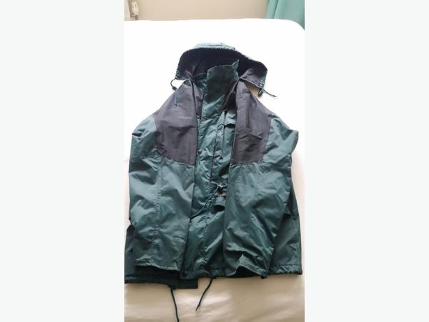 COAT Men's  hooded outdoor AS NEW