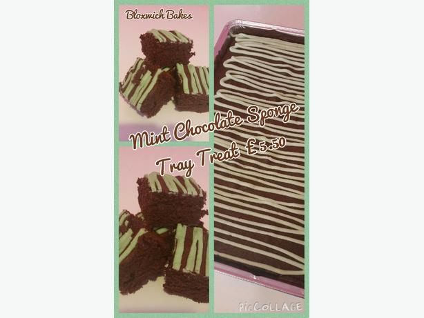 Log In Needed 5 Tray Treats Chocolate Concrete Mint Mint Custard Cake Cornflake Tart