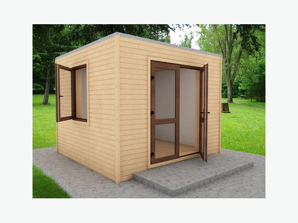 3x3 M Modern Garden Office Fully Insulated Other Sandwell