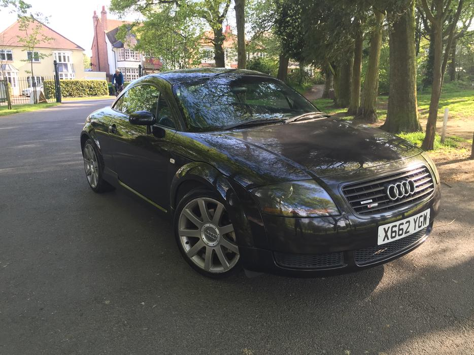 audi tt 180 bhp x plate oldbury wolverhampton. Black Bedroom Furniture Sets. Home Design Ideas