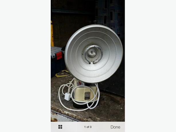 Antique UV sun lamp