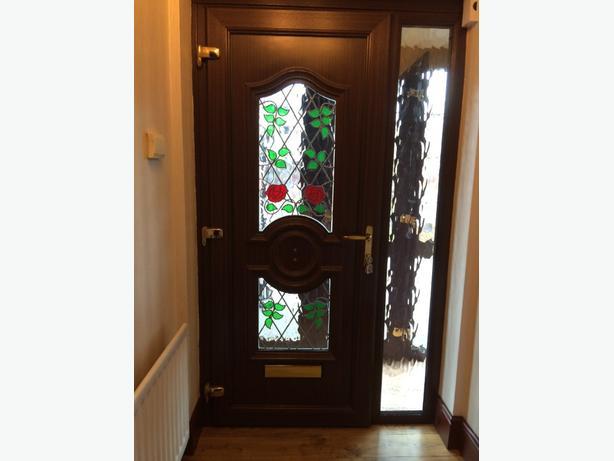 upvc door panel