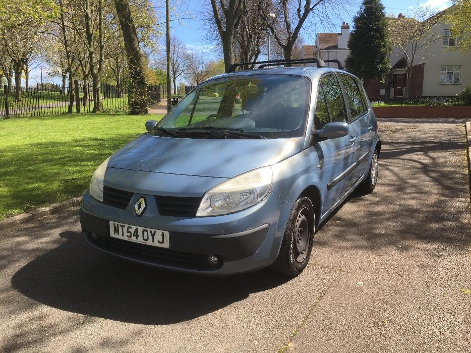 2005 54 renault megane scenic 1 6 petrol drives good great barr dudley. Black Bedroom Furniture Sets. Home Design Ideas