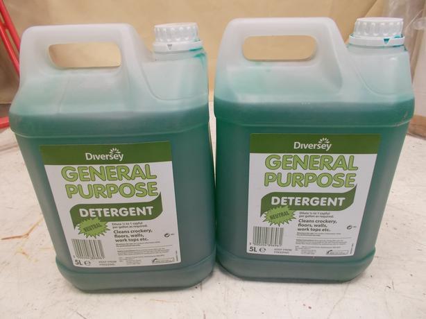 2x Diversey General Purpose Detergent 5L