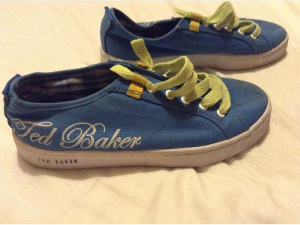 Designer Ted Baker Boys Pumps UK 2