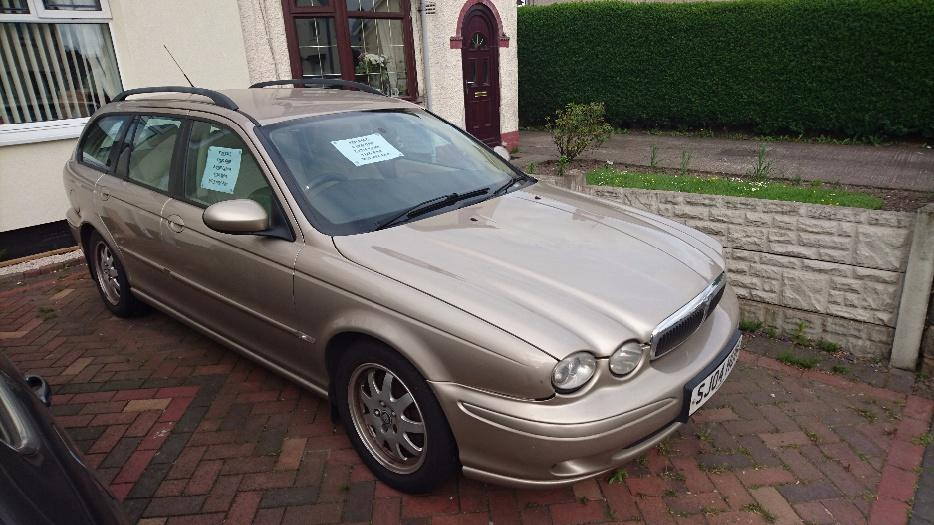 jaguar x type 2 0 diesel estate 112k miles willenhall. Black Bedroom Furniture Sets. Home Design Ideas