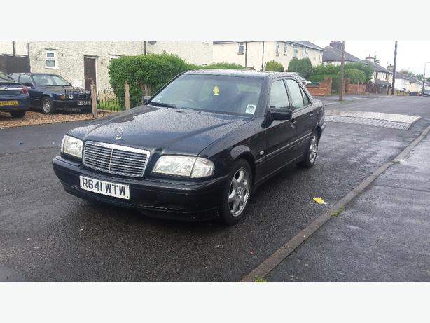 mercedes c 200 sport automatic full MOT MINT car