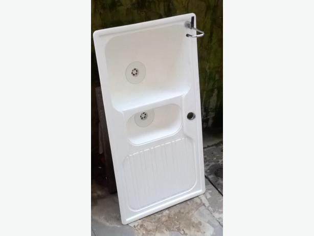 plastic double basin sink DUDLEY, Sandwell - MOBILE