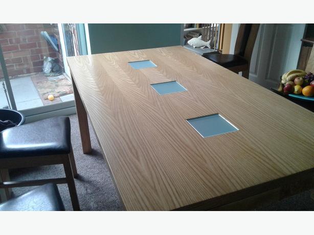 Dining Table 34 Inch X 62 Inch Halesowen Dudley