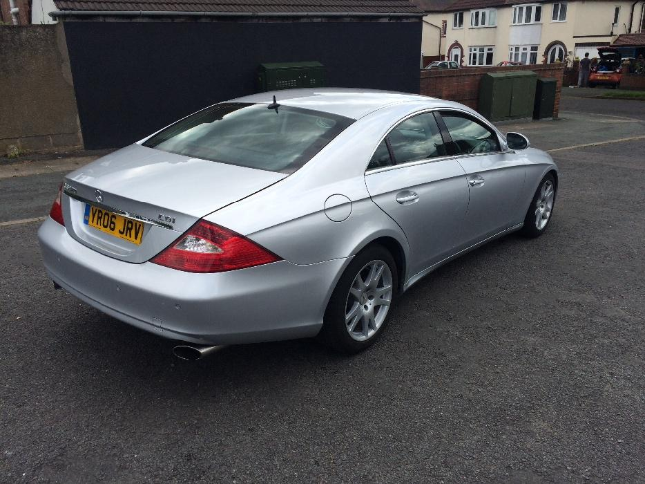 mercedes cls 320 cdi v6 7g tronic reg 2006 fully loaded tipton dudley. Black Bedroom Furniture Sets. Home Design Ideas